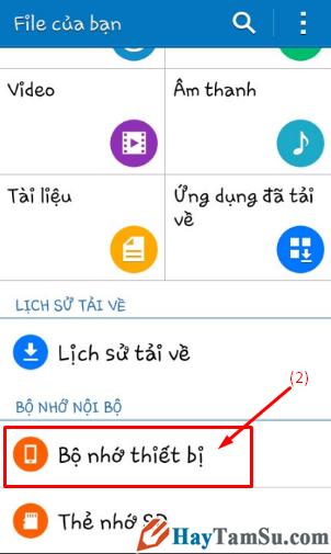 Hướng dẫn chuyển hình ảnh, video từ điện thoại Android sang thẻ nhớ SD + Hình 3