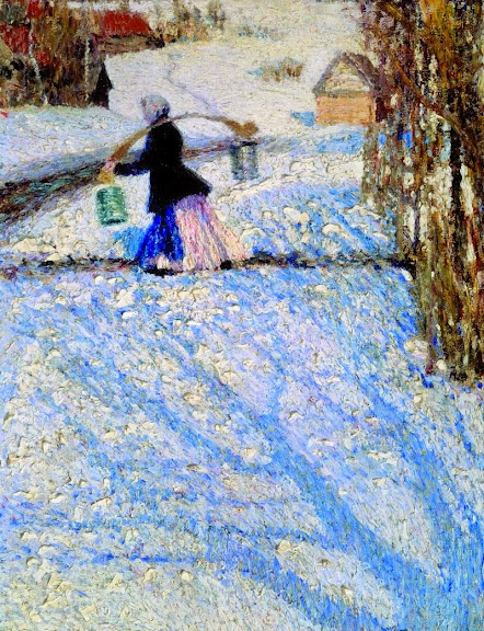 Igor Grabar - Snow in March -1904
