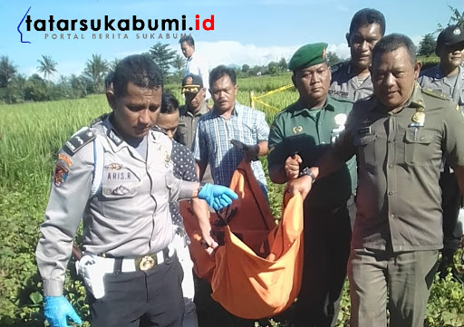 Mayat tak dikenal ditemukan di Jalur Lingkar Selatan Sukabumi // Foto : Istimewa