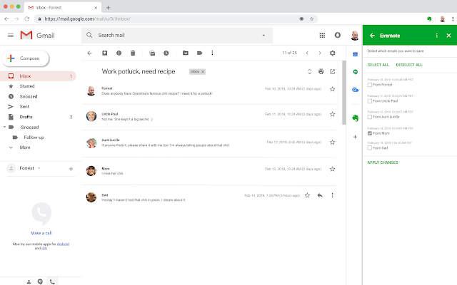 Evernote for Gmail - G Suite Marketplace
