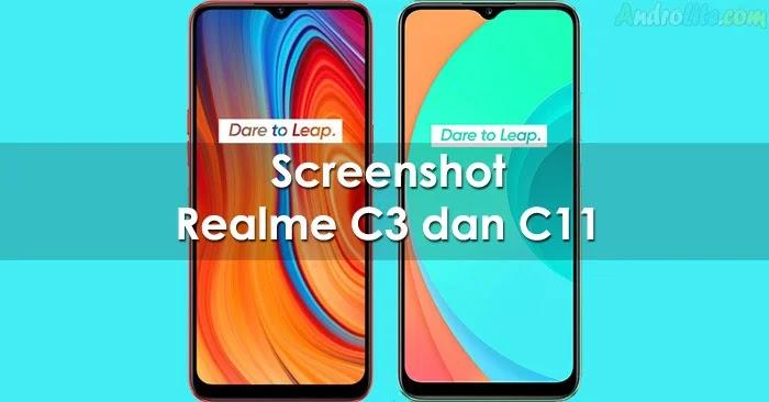 Screenshot Realme C3 / C11