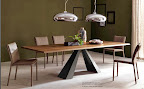 Cattelan tavolo Eliot wood drive allungabile