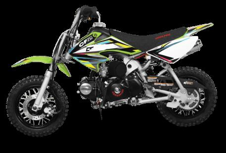 70cc Moto21 CF 70 Semi Auto Dirt Bike Green