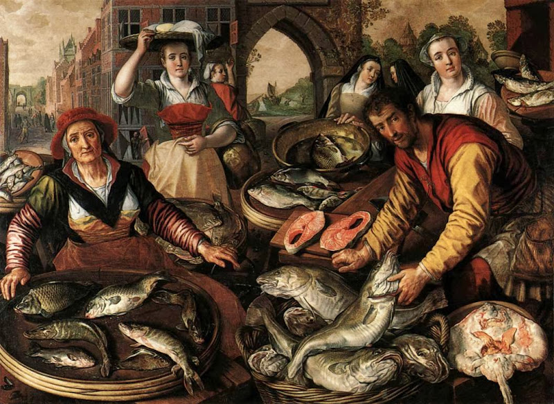 Joachim Beuckelaer - Four Elements.Water.