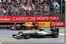 Lewis Hamilton vince il gran premio di Monaco 2016