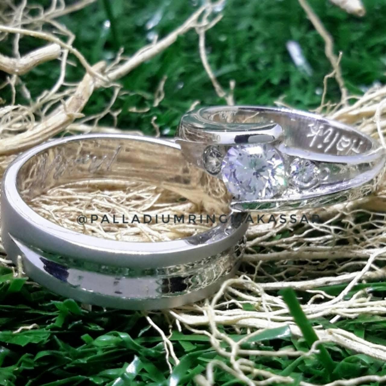 Cincin Palladium Makassar Jewelry Store Pernikahan 023 Kawin Prm0001