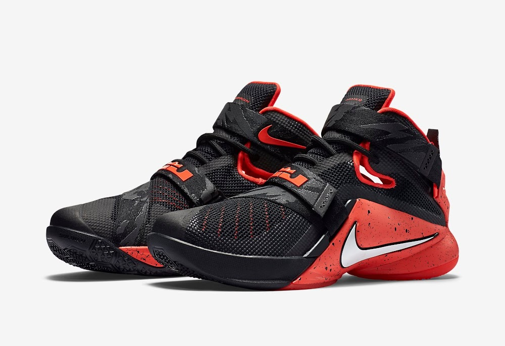 quality design 9ccad 213df ... Nike Goes Premium for Black and Red LeBron Soldier 9 ...
