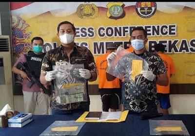 Polres metro Bekasi bekuk polisi Gadungan