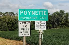 Poynette, WI my current home town