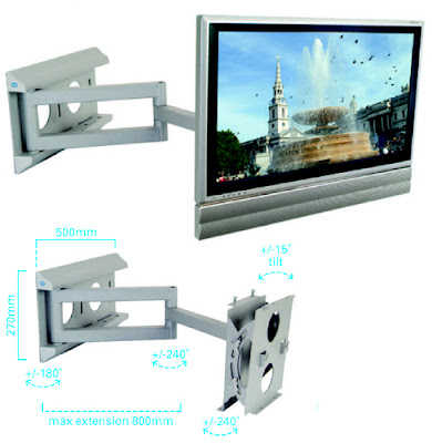 Flat Screen Wall Mount-Dual Arm