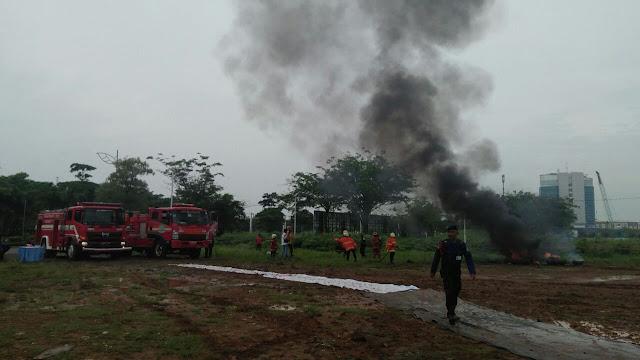 Kabupaten Dan Kota Bekasi Teken MoU penanganan kebakaran