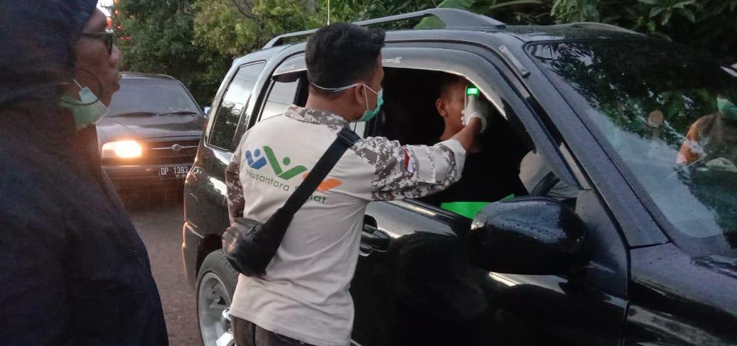 Bupati Soppeng Pantau Pelaksanaan Satgas Tim Gugus Pengendalian Covid-19