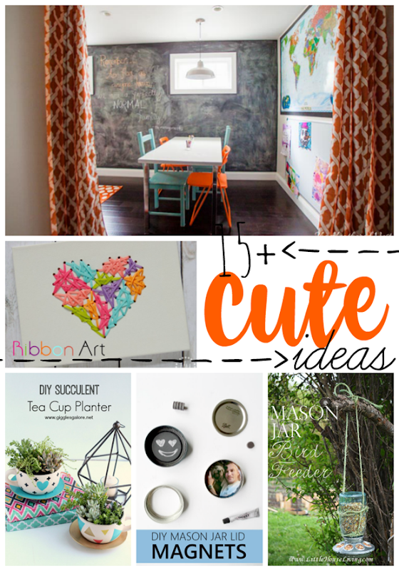 15  Cute Ideas at GingerSnapCrafts.com #cute #diy #projects