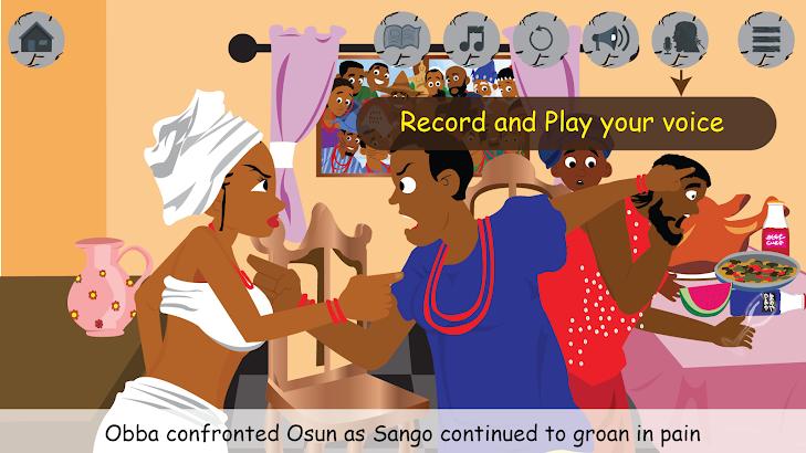 Sango and his wives- screenshot thumbnail
