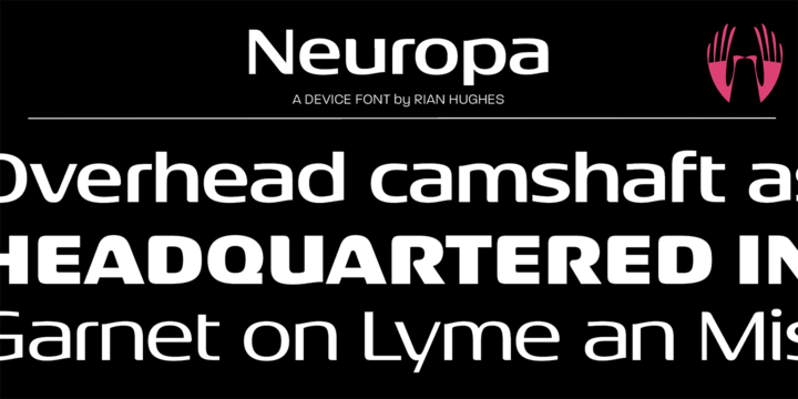 Download Neuropa Font Family From Device
