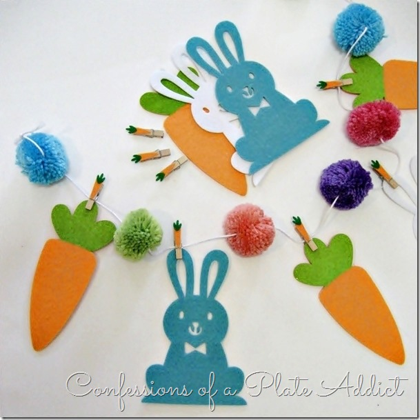 CONFESSIONS OF A PLATE ADDICT Easy Bunny and Carrot Garland4
