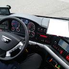 Het dashboard van de M.A.N van Drenthe Tours bus 84