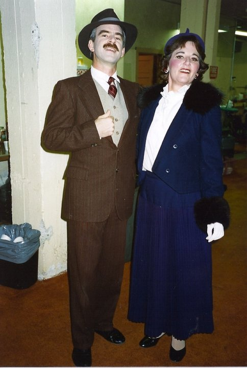 Me and My Girl chorus with Paula Rudolph