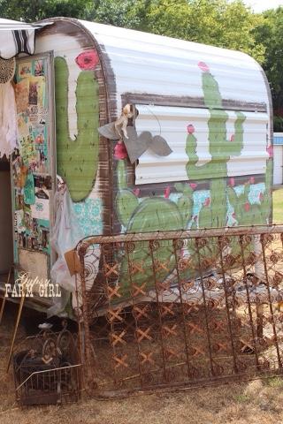 vintage camper diy paint