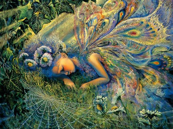 Goddess Of Wildflowers, Fairies 2