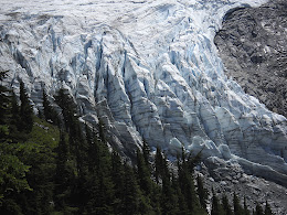 Lower Curtis Glacier on Mt Shuksan.