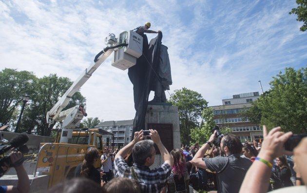 Cornwallis Statue Protest 20170715