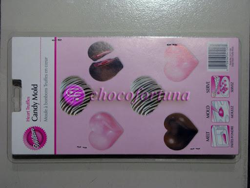 Cetakan Coklat C-Heart Truffle