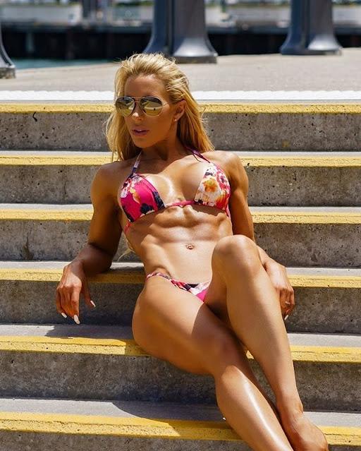 Anna McManamey fit legs