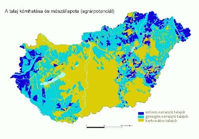 talaj kémhatása Magyarországon