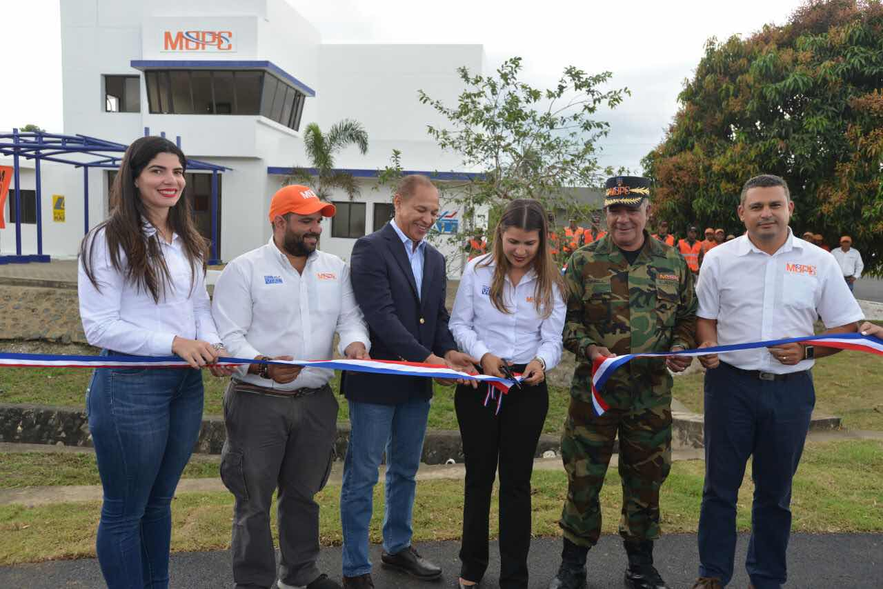 MOPC habilita nuevo punto de servicio de Asistencia Vial y Paso Rápido en La Penda, autopista Duarte este punto de servicio contará con las unidades de la COMIPOL