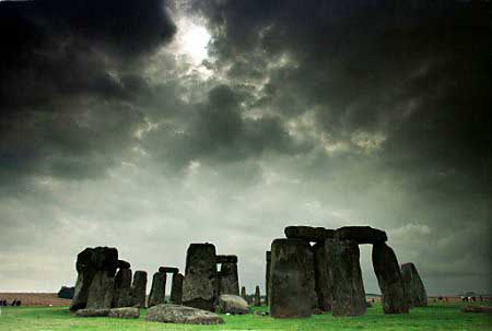 Stonehenge Clouds, Celtic And Druids
