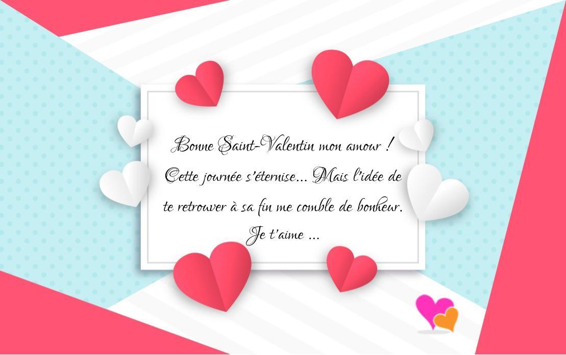 Plus beaux messages pour saint valentin