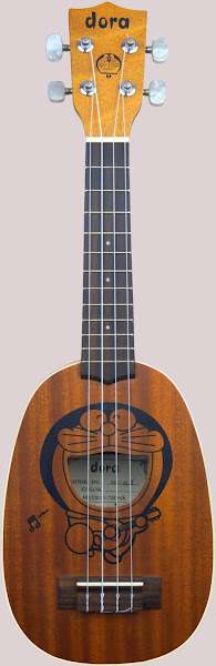 Doraemon Cartoon Pineapple Soprano at Ukulele Corner