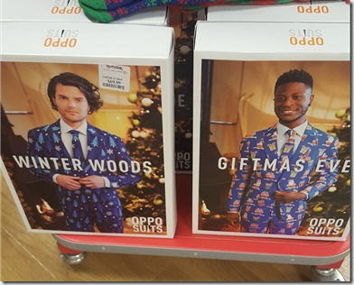 Jerk christmas suits