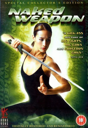 Poster Of Naked Weapon (2002) Full Movie Hindi Dubbed Free Download Watch Online At Alldownloads4u.Com