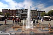 Ruszaj w Drogę na Kaszuby - Fontanna na rynku w Kościerzynie