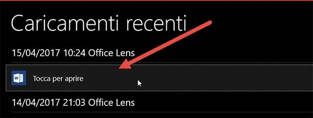 office-lens-tocca-aprire