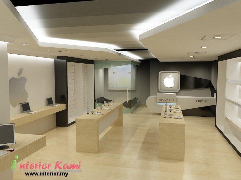Computer shop interior design native home garden design for Interior design online shop
