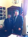 Ambassador Qader with Congressman Peter King