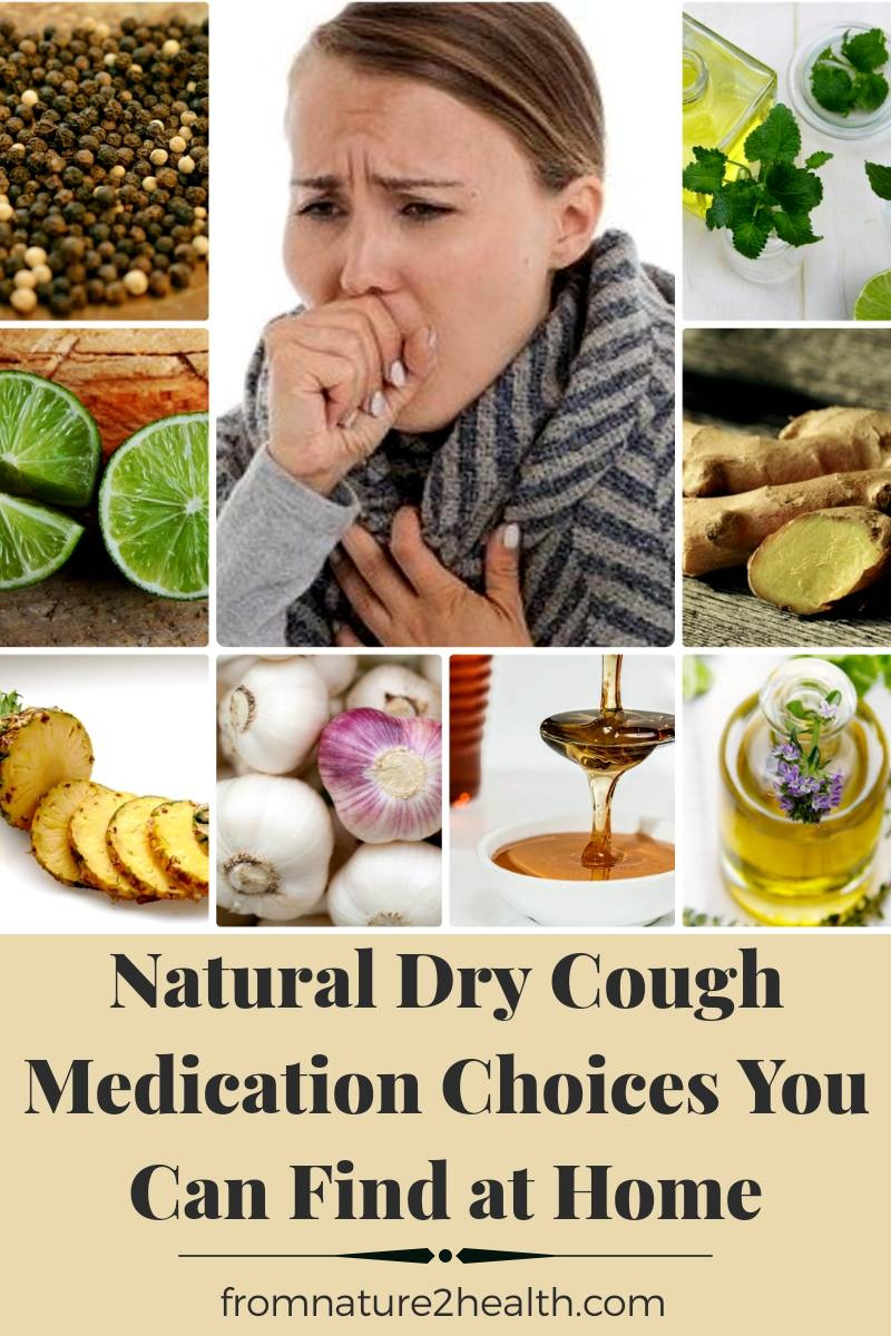 Garlic, Ginger, Honey, Lime, Mint, Black Pepper is 9 Natural Dry Cough Medication Choices You Can Find at Home