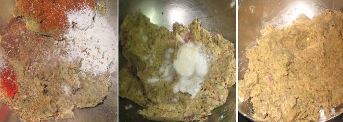 Green Lentil and Oats Burger Recipe | Vegan & Protein Rich Burgers | Veggie burgers recipe | Foodomania.com