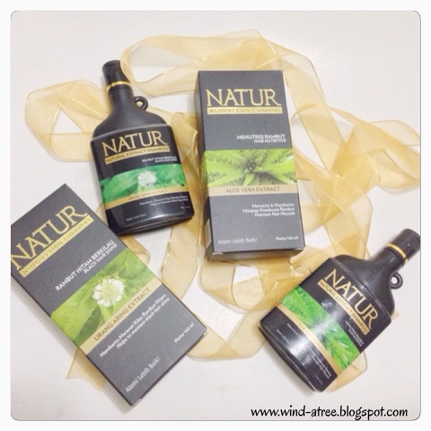 [Review] Natur Hair Beauty Experience - Shampoo, Serum, Conditioner, Hair Mask, Hair Mist