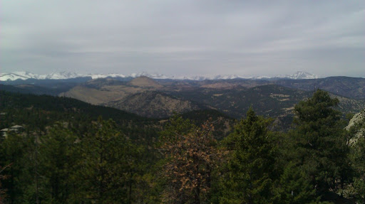 Beautiful Views looking towards the divide... you're almost at the top