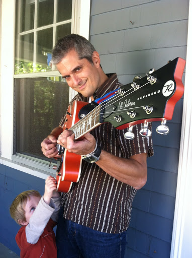 Touring guitarist finds unexpected reason to stay home more - Matt Heaton's Toddlerbilly Riot!