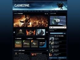 Gamezine Theme