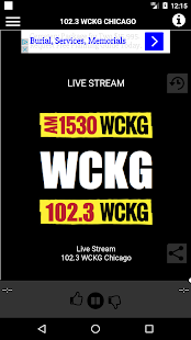 WCKG Chicago 102.3 FM- screenshot thumbnail