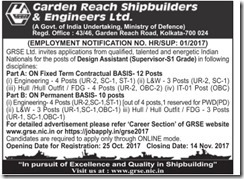 GRSE Design Assistant Vacancy 2020 www.jobs2020.in