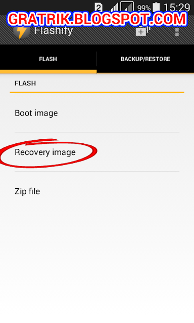 How to Install CWM Custom Recovery Mode Without PC or Computer Samsung Galaxy V SM-G313HZ