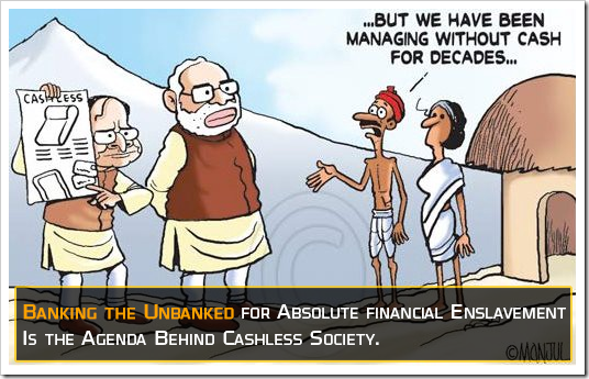 banking the unbanked - cashless india