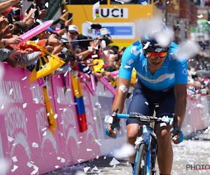 Carapaz verslikt zich in twee Colombianen in Ronde van Asturië